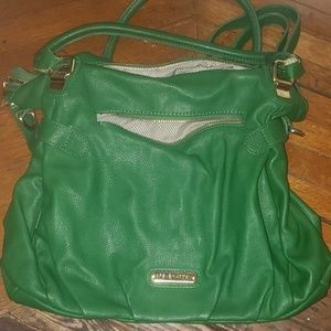 Kelly green Steve Madden purse